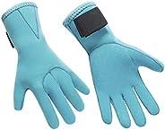 Wetsuit Gloves Professional 3mm Neoprene Scuba Diving Gloves for Men Women Anti Slip Stretchy Snorkeling Dive