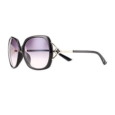 INITIALGRASS Gafas De Sol Para Mujer Gafas De Sol Retro Gran ...