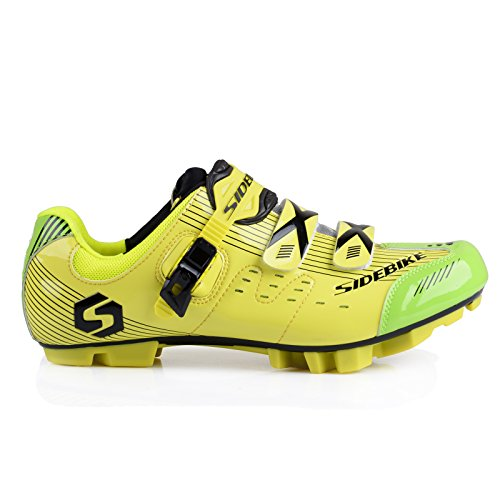 Smartodoors Men's Mountain Bike Road Cycling Shoes Professional Racing Cyclin