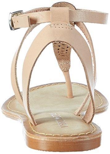 Vero Moda Vmanneli Leather Sandal, de Tiras Para Mujer Beige (Shrimp)