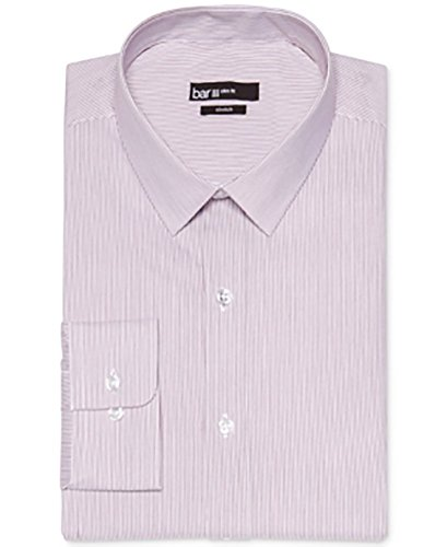 Bar Iii Slim-Fit Cabernet Striped Dress Shirt