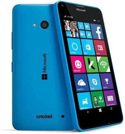 Cricket Microsoft Lumia 640 Smartphone 640 (Blue)