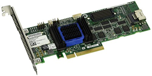6405 Single Raid 0/1/10 Sata 512MB Pcie 3.3/12V MD2/LP No Cable
