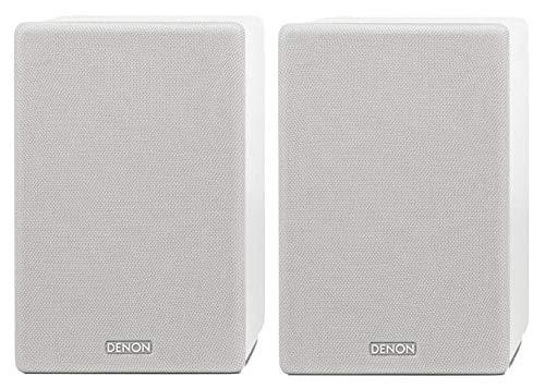 Denon Ceol Draadloos en CD Hi-Fi Systeem Luidsprekers Kleur: wit