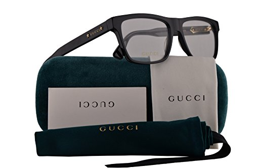 Guccis New Collection - Gucci GG0269O Eyeglasses 56-16-145 Black w/Demo Clear Lens 001 GG 0269O