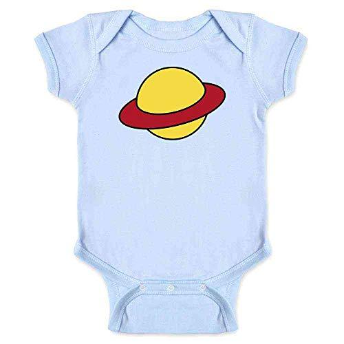 Rugrats Chucky Costume (Saturn Cartoon Funny Halloween Chucky Costume Light Blue 24M Infant Baby Boy Girl)