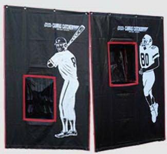 Cimarron Outdoor Sports Gaming Accessories 2-Sport Catcher Vinyl Backstop