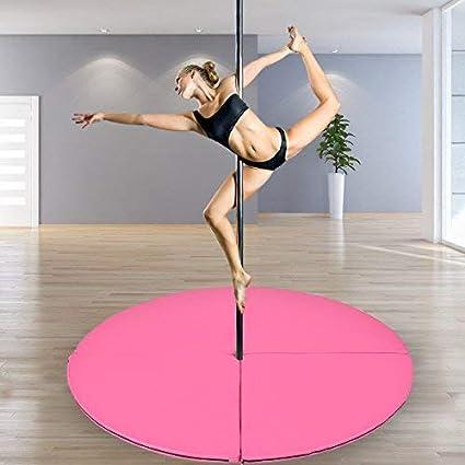 Tangkula Pole Dance Alfombrilla Plegable para Yoga Ejercicio ...