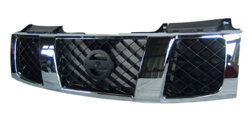 OE Replacement Nissan/Datsun Armada/Titan Grille Assembly (Partslink Number NI1200210) (Nissan Titan Accessories Grill compare prices)