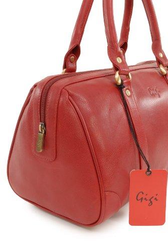 signé Rouge à main Sac Gigi en cuir zAF6vw1qT