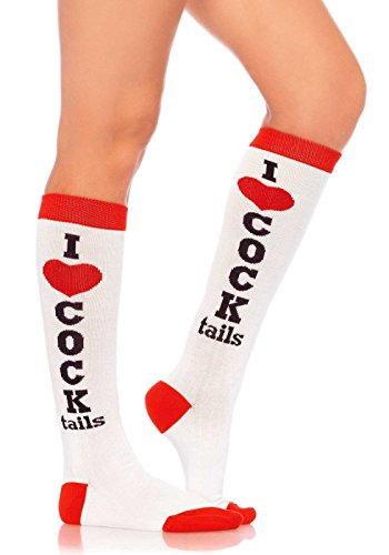 Leg Avenue Women's Knee High Casual Party Socks