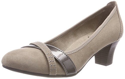 toe Pumps Women''s 341 Softline 22403 Closed 21 Beige taupe IvxIXnS