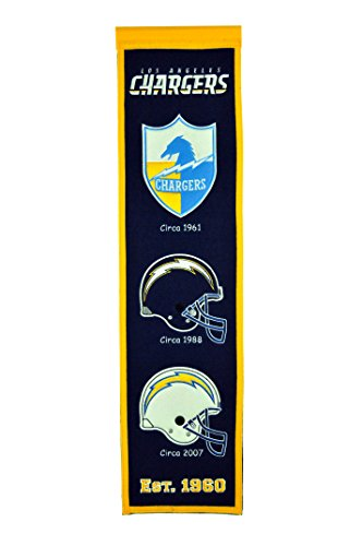 NFL Los Angeles Chargers Heritage Banner