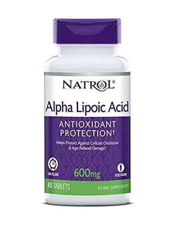 98897dcedb2f Natrol Complément alimentaire antioxydant à base d acide alpha-lipoïque - A  libération prolongée