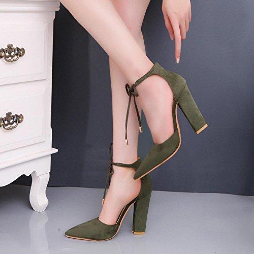 Sandalias de mujer, Internet Mujeres Verano Sandalias De Tacón Alto Verde