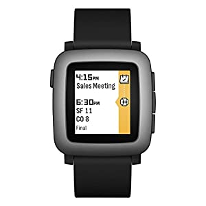 Pebble Time Smartwatch – Black
