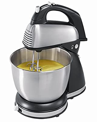6 Speed Stainless Steel Stand Mixer by Hamilton Beach