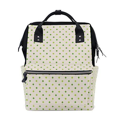 MALPLENA Daypack Cute Tiny Clover School Bag Travel Backpack ()