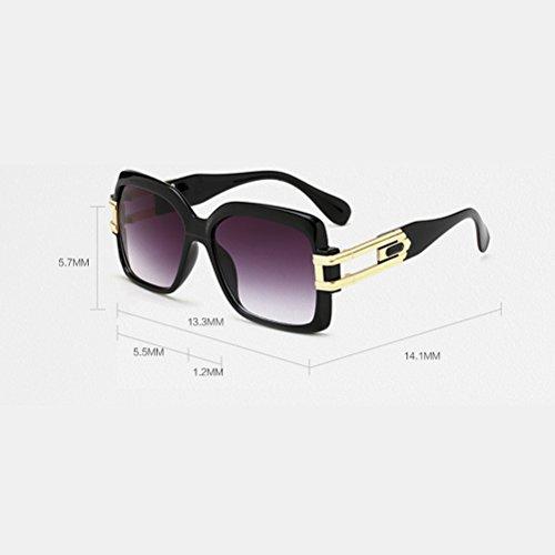 Et Jambes Sport De Unisex Grand Sunglasses Lunettes Mode Femmes Zhhlaixing Aux Des Hommes Cadre Pour Black Qualité Carré nFvwI4q