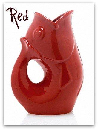 1 X Brick Red Gurgle Pot