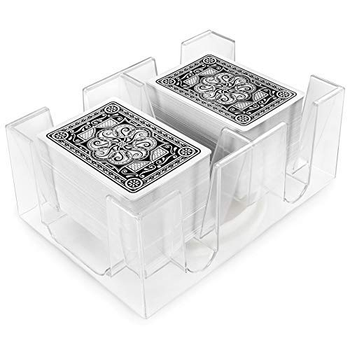 Brybelly 6 Deck Rotating-Revolving Card Tray ()