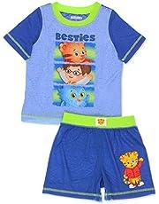 Daniel Tiger Toddler Boys 2 Piece T-Shirt and Shorts Pajamas Set