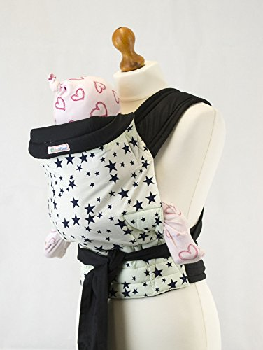 Mei Tai Hip Carrier (Palm and Pond Mei Tai Baby Sling Carrier - Blue Star)