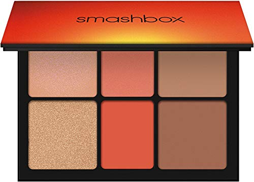 Smashbox Ablaze Face Palette (Blush/Bronze/Highlight) - LIMITED EDITION (Limited Cosmetics Edition Smashbox)