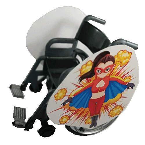 Super Lady Wheelchair Costume Child's ()
