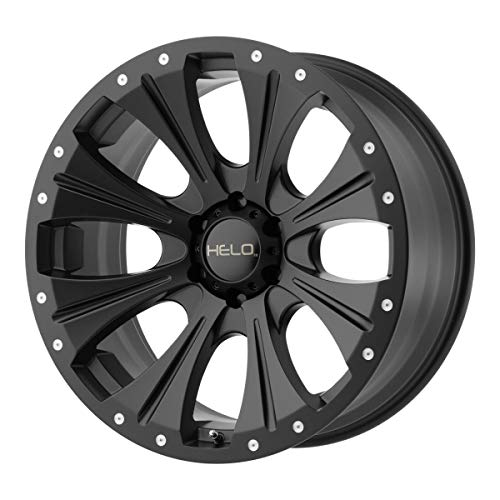 HELO HE901 Wheel with BLACK and Chromium (hexavalent compounds) (20 x 9. inches /6 x 106 mm, 18 mm Offset)