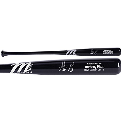 Anthony Rizzo Chicago Cubs Autographed Black Marucci Game Model Bat - Fanatics Authentic Certified - Autographed MLB ()