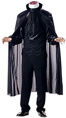 (California Costumes Men's Headless Horseman Costume, Black)