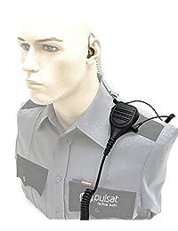 Altavoz Micrófono Para Motorola CP200 cp200d XLS PR400 ep450 GTX GP300 P1225 CP185 P110 SP50 solapa hombro de radio