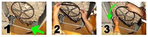 Megadyne - Correa de lavadora EL 1151 H7: Amazon.es: Hogar