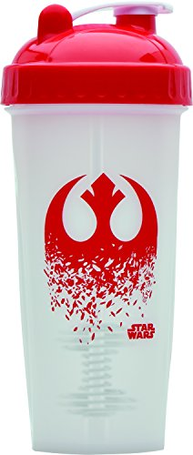 Performa Perfect Shaker - The Last Jedi Star Wars Shaker, Best Leak Free Bottle With Actionrod Mixing Technology For Your Sports & Fitness Needs! Dishwasher and Shatter Proof(Rebel Symbol #10)