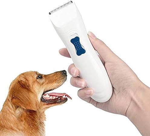 Cortapelos para perros, cortadores de pelo de mascotas, bajo ruido ...