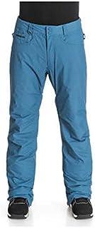 Quiksilver Pantaloni da Uomo da Neve State Pant M SNPT, Uomo, Schnee Hose State Pant M SNPT, Denim Scuro, XS