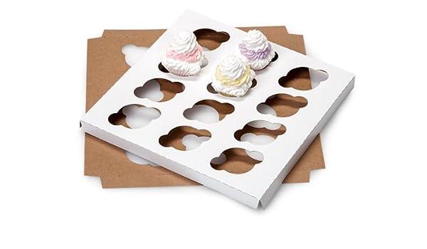 10 Pk Mini Cupcake, color 12 marcos de fotos (10 unidades): Amazon.es: Hogar