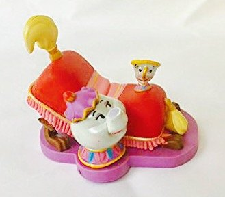 Used, Disney Beauty & the Beast Sultan Foot Stool Footstool for sale  Delivered anywhere in USA
