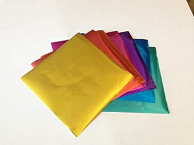 Foil Metallic Origami Paper - 30 Sheets in 10 Colors