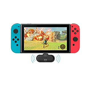 Gulikit Route+ Mini USB C Wireless Audio Adapter Bluetooth Transmitter aptX Low Latency Compatible Nintendo Switch, Wireless Gaming Headphones etc