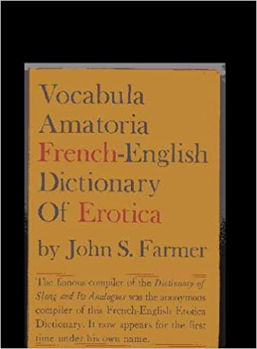 Dictionary erotica