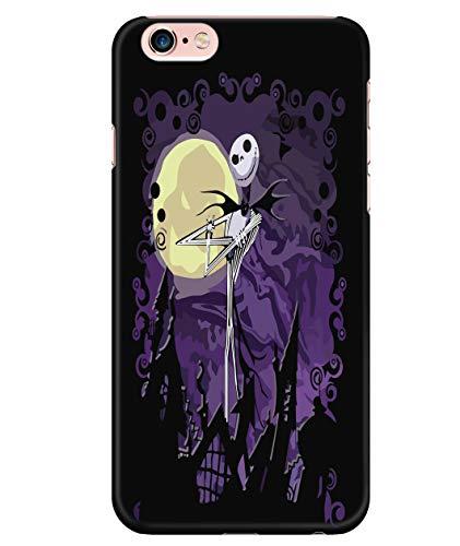 iPhone 6 Plus/6s Plus Case, The Nightmare Before Christmas Case for Apple iPhone 6 Plus/6s Plus, Jack Skellington iPhone Case (iPhone 6 Plus/6s Plus Case - Black)]()