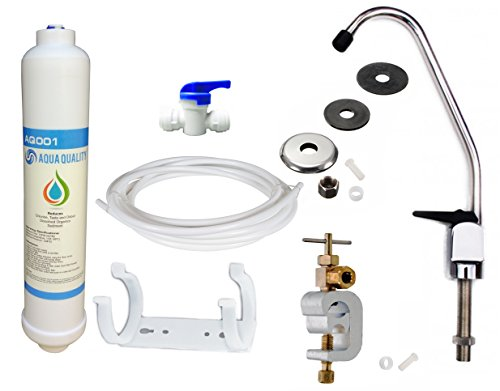 Under Sink Drinking Water Tap Filter Kit System Including Tap and Accessories