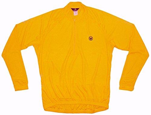 CANARI Paceline Men's XXL Longsleeve Mango Cycling Jersey