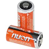 NUON - (10 Pack) NUCR123B - 3V Lithium Photo Batteries - Size CR123A
