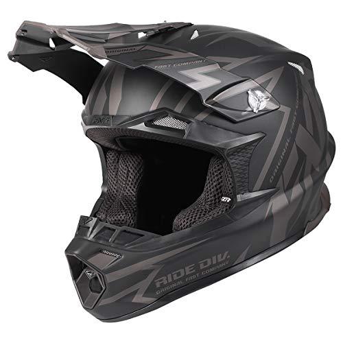 FXR Blade 2.0 Vertical Helmet (Black Ops, 2X-Large)