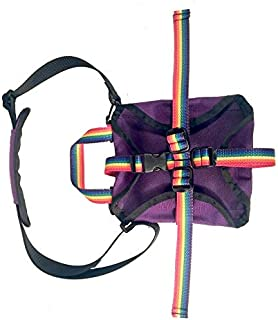product image for Awiki Strap Pack - Cross-Body Book Sling by Tough Traveler (Purple/Rainbow Straps)