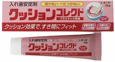 Shionogi CUSHION CORRECT Denture Adhesive product image