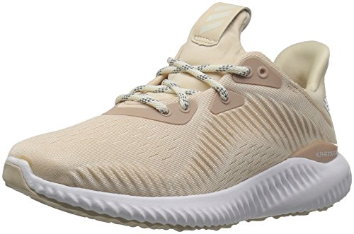 adidas Performance Women's Alphabounce 1 w, Linen/Off White/Ash Pearl, 8.5 M US